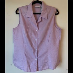 Liz Claiborne sleeveless blouse